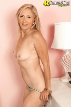 HOW MUCH CAN CONNIE'S FUR PIE GAPE?