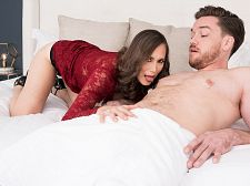 Lilly Bonks Her Son's Big-dicked Friend