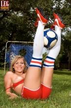Soccer Bimbo in Socks